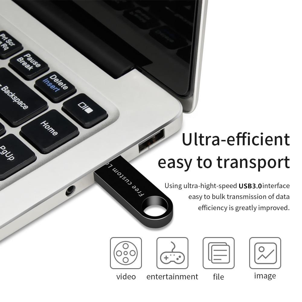 XIWANG usb flash drive 64GB Metal Pendrive 3.0 USB Stick 128GB 32GB 16GB 8GB 4GB Pen drive waterproof memoria stick custom logo (3)