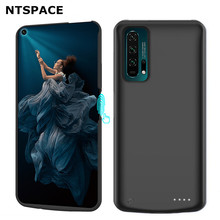 NTSPACE 6500mAh Battery Charger Cases For Huawei Nova 5T Extenal Battery Power Charging Case For Huawei Nova 5T Powerbank Cover ntspace 6500mah for huawei honor 9x pro battery charger cases backup power bank shockproof cover for huawei honor 9x power case