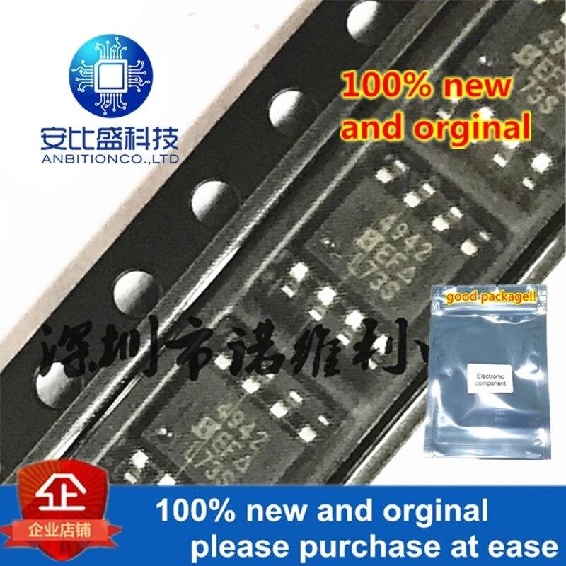 10pcs 100% New And Orginal SI4942DY-T1-E3 SOP-8 SI4942 N 4942 40V 5.3A MOS In Stock