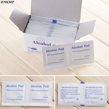 Alcohol-Swabs Wipes 70%Isopropyl Pads Skin-Cleanser Sterilization First-Aid Useful Portable