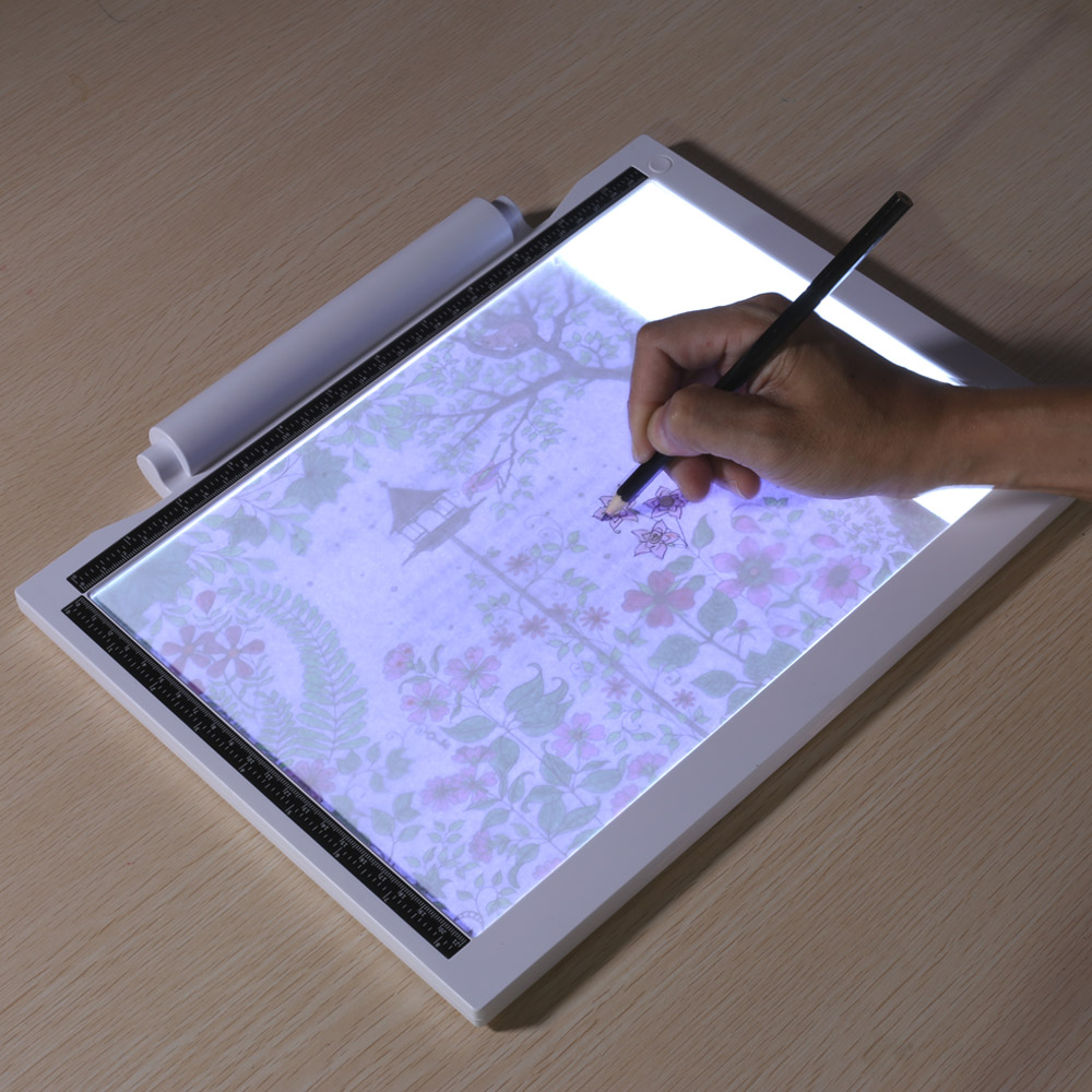 LED Writing Tablet Digital Drawing Electronic Handwriting Pad Message Graphics Board Kids Children Gifts
