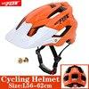2019 corrida capacete de bicicleta com luz in-mold mtb estrada ciclismo capacete para homens mulheres ultraleve capacete esporte equipamentos de segurança 27