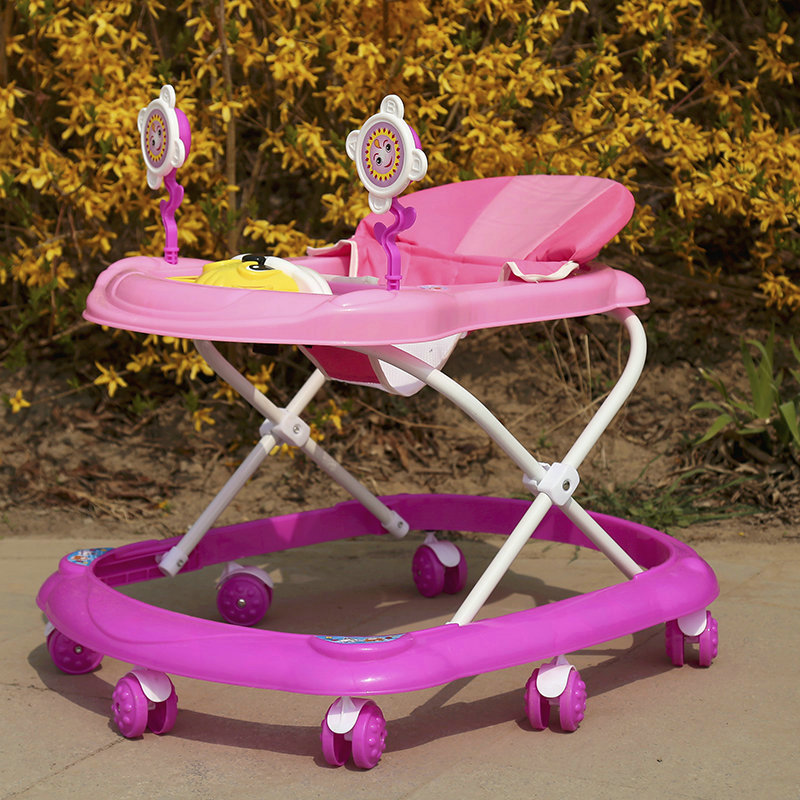 Free Shipping Baby Walker With Wheels Jumper Infant Folding Baby Doorway Assistant High Chair Activity Walker Baby Carrier
