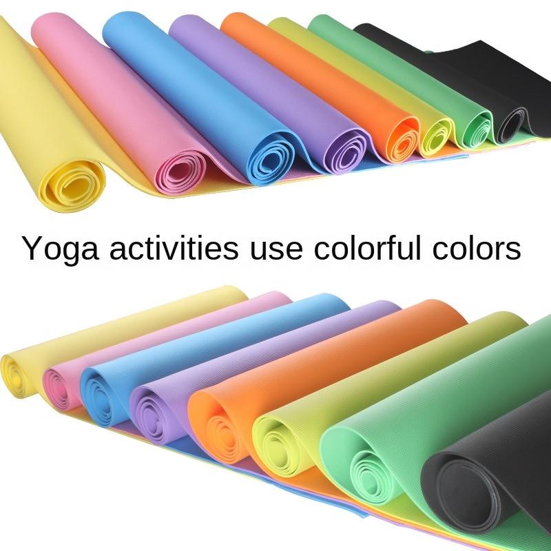 173*61* 4MM Thick EVA Foam Yoga Mat 2020 Yoga Mats Brand Thick Non-slip Breathe Elastic Durable Exercise Fitness Gym For Women