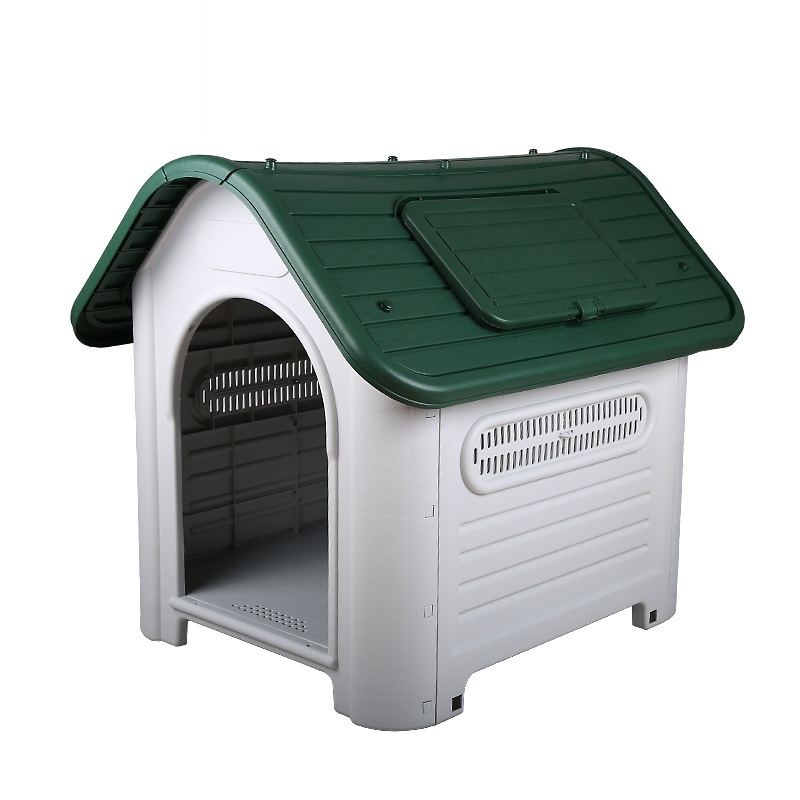 Plastic luxury large XXL dog house medium kennel indoor outdoor for big dog pet home use image