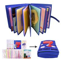 Cloth Book Nonwoven Material Package Set Parent Child Toy Cut Free Cloth Book