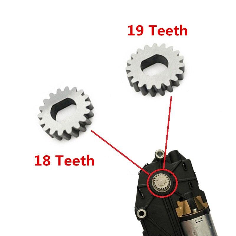 READXT 18/19 Teeth Car Sunroof Motor Gear For A3 A4 B8 B9 A6 C6 C7 Q3 Q5 Q7 Golf 4 6 MK6 Passat B6 B7 Tiguan Benz W202 W203 W204