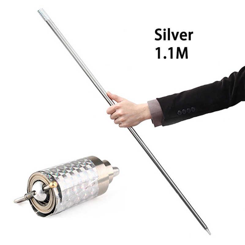 110 Cm/150 Cm Portable Self-Pertahanan Telescopic Rod Seni Bela Diri Logam Ajaib Saku Mobil Luar Ruangan Anti- serigala Batang Baja Elastis Rod