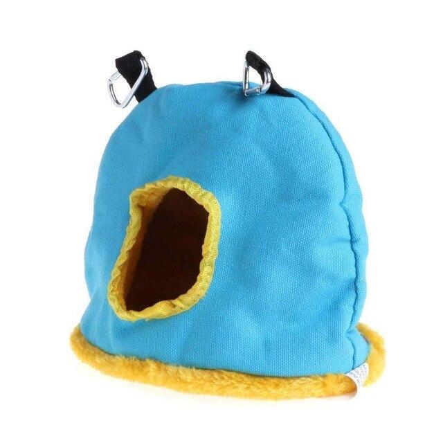 Colorful Comfortable Parakeet Hut 4