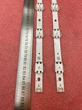 2 Pcs Led Backlight Strip Voor Lg 43UJ675V 43UJ655V 43UJ670V 43UJ651V 43LV340C UB 43LJ610V V17 43 ART3 2867 43uj6525 43uj6565