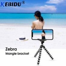 Kebidu tripé suporte polvo flexível gorillappod para telefone telefone móvel smartphone dslr câmera mesa mini tripé
