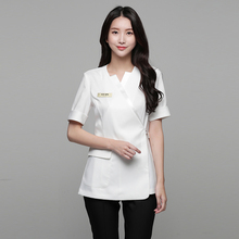 2020 new summer cosmetologist overalls female high-end health salon fashion beauty salon professional suit