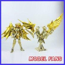 แฟนรุ่นIN STOCK GreatToys EX Soul Of Gold Sog Gemini Saga Saint Seiyaเกราะโลหะกับวัตถุตำนานผ้าAction Figureของเล่น