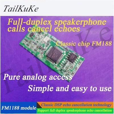 Full-duplex (AEC) Echo Cancellation FM1188 Voice Module - F-18