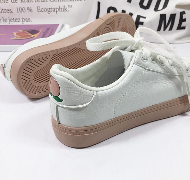 GV22 femmes chaussures plates 2019 été Style sans lacet chaussures décontractées mode respirant blanc chaussures
