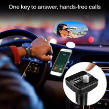 цена на Bluetooth Car Kit Hands Free Talking Car MP3 Music Player Audio FM Transmitter support SD Card USB Car Charger For iPhoneAndroid
