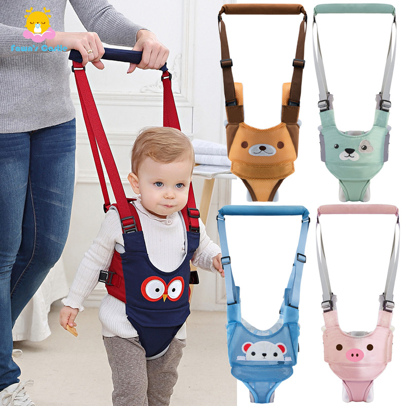 Baby Walking Belt Cute Baby Toddler Walk Toddler Safety Harness Assistant Walk Learning Walking Baby Walk Assistant Belt