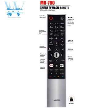 New not Magic remote control universal For lg TV MR-700 AN-MR700 AKB75455601 AKB75455602 OLED65G6P-U OLED55E6V with netflx amazo image