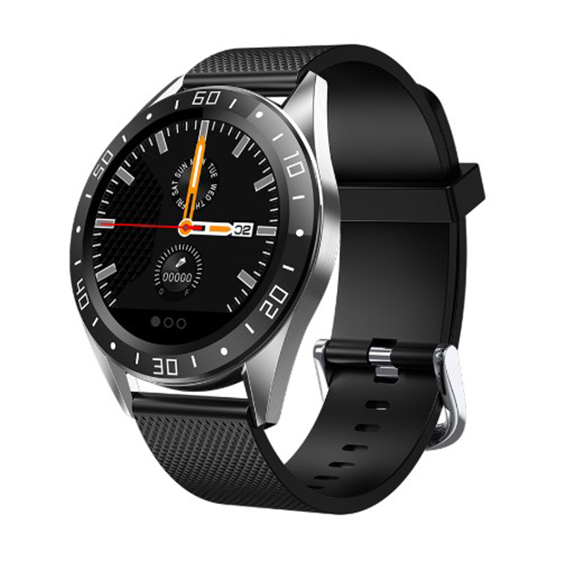 <font><b>GT105</b></font> 1.22inch <font><b>Smartwatch</b></font> Men Women Heart Rate Blood Pressure Monitor <font><b>Smartwatch</b></font> Call Reminder image