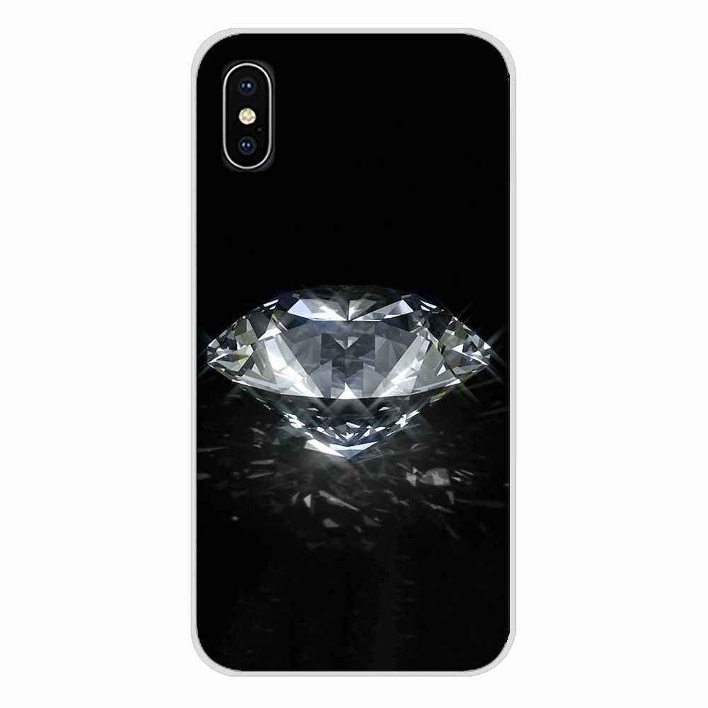 يغطي لهواوي G7 G8 P7 P8 P9 P10 P20 P30 لايت البسيطة برو P الذكية زائد 2017 2018 2019 اللؤلؤ الكريستال الماس حجر الراين Bluesky