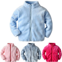 Toddler Baby Winter Coat Girls Long Sleeve Winter Solid Windproof Coat Warm Outwear Jacket Baby Snowsuits Clothes Chaqueta Bebe(China)
