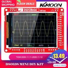 JYE Tech DSO138 13805K Mini Kit de bricolage Oscilloscope numérique pièces SMD pré soudé ensemble dapprentissage électronique Oscilloscopes