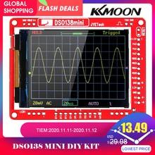 Jye tech dso138 13805k mini osciloscópio digital kit diy smd peças pré soldadas conjunto de aprendizagem eletrônica osciloscópios