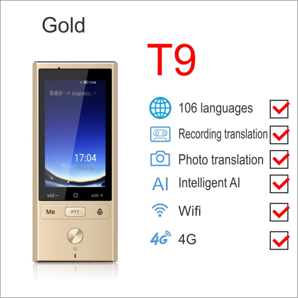 "Image 5 - Boeleo W1 AI Simultaneous Voice Translator 4G Network Multi language Portable Smart Voice Translator 2.8"" Touch Screen 8G Memory-in Translator from Consumer Electronics"