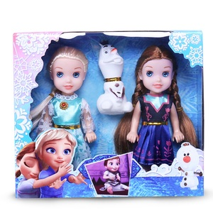 Toys Princess Toy Dolls & accessories Good Quality Gifts ! Plastic Baby Dolls for Girls(China)