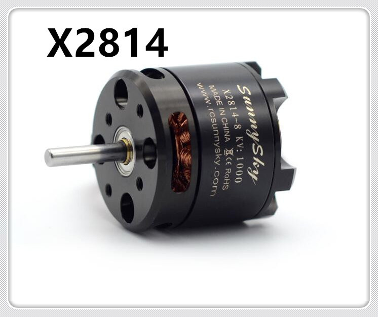 1pc SunnySky X2814 900KV 1000KV 1100KV <font><b>1450KV</b></font> Outrunner External Rotor Brushless Motor for RC Aircraft Quadrocopter Helicopter image
