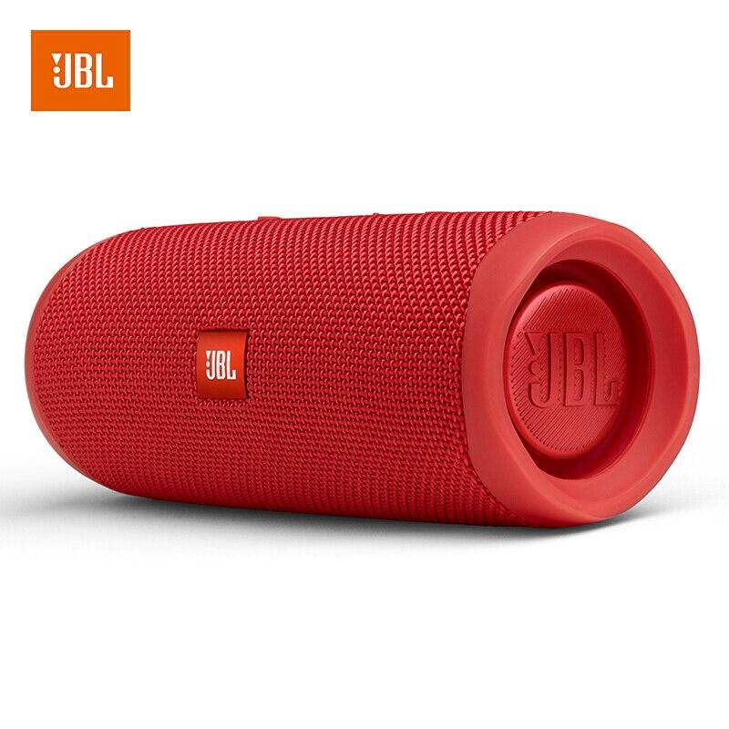 Original jbl flip 5 alto-falante bluetooth mini portátil ipx7 à prova dwireless água sem fio ao ar livre estéreo música baixo