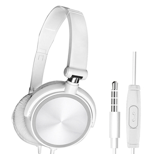 Image 3 - Wired Foldable Deep Bass On ear Earphones w/ Microphone 3.5mm Interface Headphones for Cellphones Laptop Tablet Mp4 Mp3 Headset