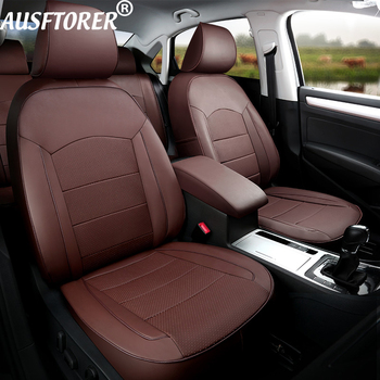 Genuine Leather & Leather Cover Car Seats for Toyota PRIUS 2011 2012 2013 2014 Seat Covers Sets Custom Fit Car Cushions Supports