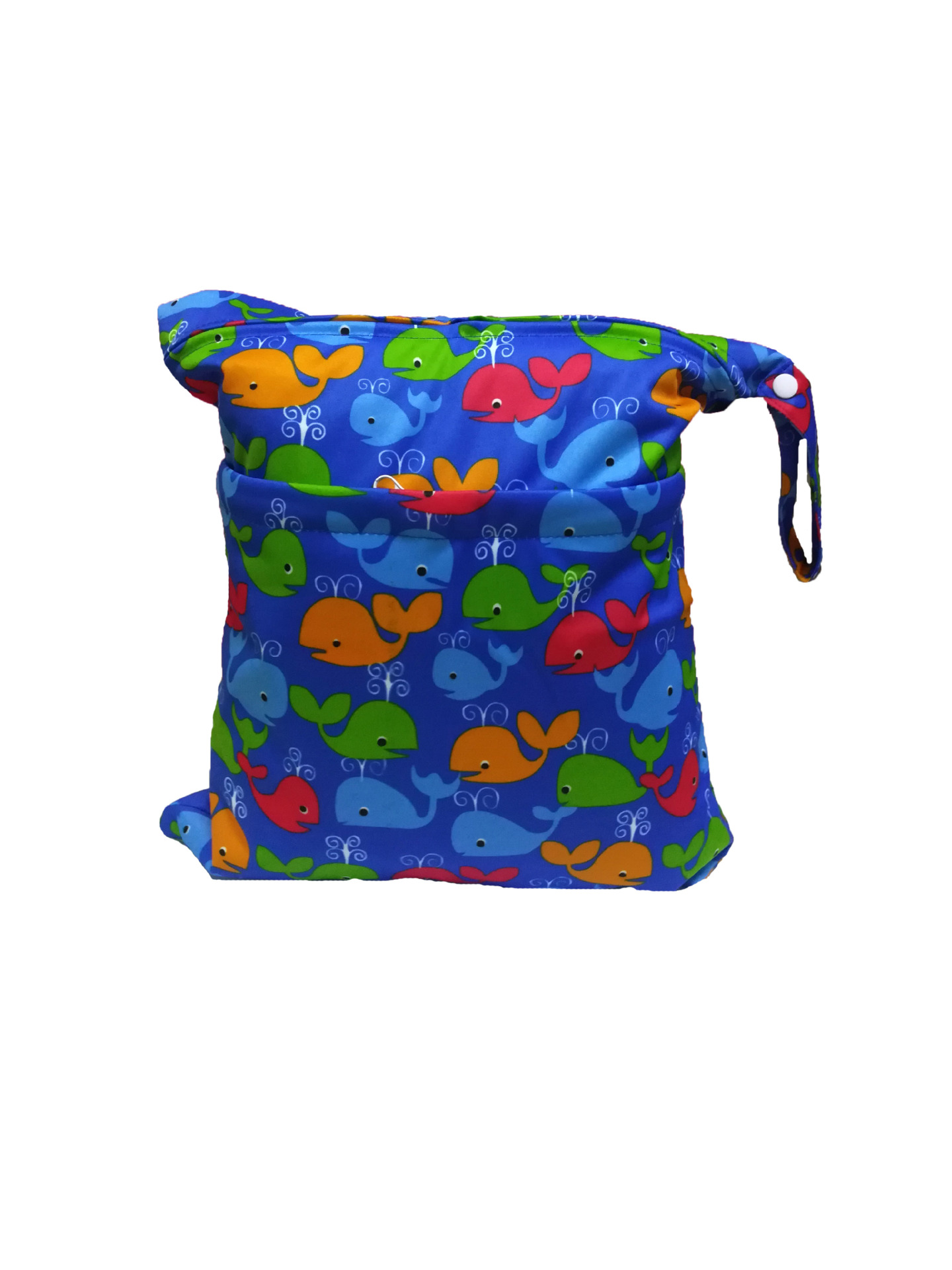 Digital Printing Double Zipper Diaper Pants Wet And Dry Bag/Waterproof Diaper Bag/Storage Bag/Washable Every Diaper Bag