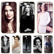 For Samsung Galaxy Note 2 3 4 5 8 9 S2 S3 S4 S5 Mini S6 S7 Edge S8 S9 Plus American actress Star Anne Hathaway TPU Silicone Case(China)