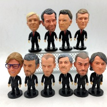 Klopp Wenger Ferguson Motz Inzaghi Zidane(игра в мяч) Принадлежности для фанатов фигурка модель куклы