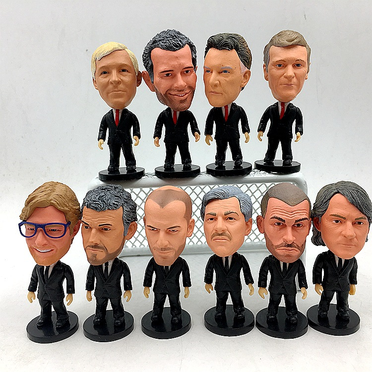 Klopp Wenger Ferguson Motz Inzaghi Zidane (Ball Game) Fan Supplies Figurine Model Doll