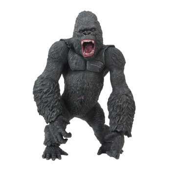 [Funny] Big size 35CM Movie King Kong Skull Island Action Figure Toy Gorilla Collection Model Desk decorations kids gift toys