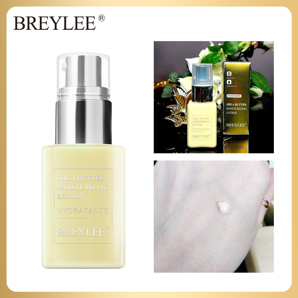 BREYLEE Face Cream Hydratante Shea Butter Moisturizing Lotion Face Skin Care Anti Acne Treatment Facial Emulsion Day Night Cream