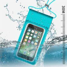 ТПУ Водонепроницаемая HD сумка для мобильного телефона с сенсорным экраном, сумка для плавания, пляжа, бассейна, дайвинга, подводного плавания, мобильный чехол G99D