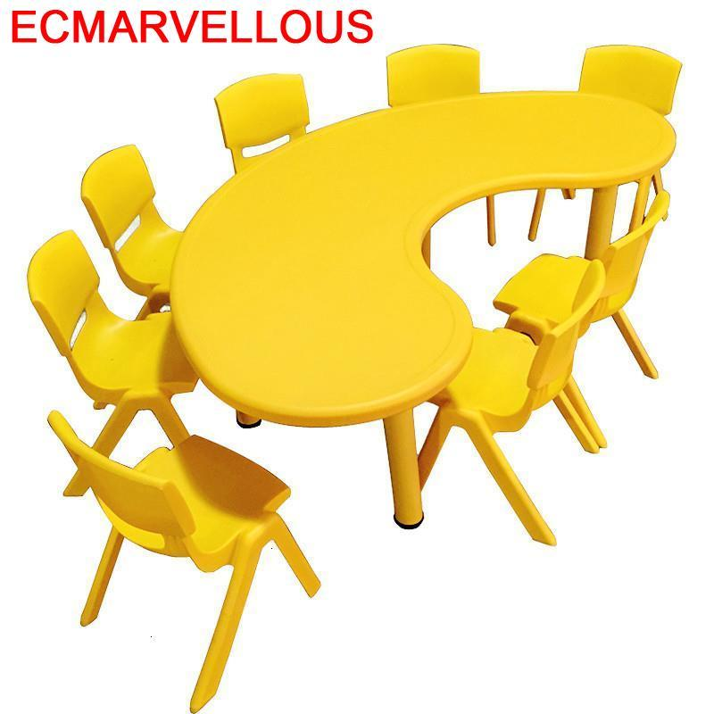 Infantil Silla Y Mesa Infantiles Kindertisch Scrivania Bambini Kindergarten Bureau Study For Kids Enfant Kinder Children Table