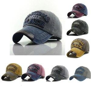 Ретро бейсбольная кепка для мужчин и женщин, кепки для водителя грузовика, хлопковые брендовые бейсболки, мужские винтажные кепки с вышивко...