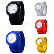 Cute Soft Silicon Cartoon Watches Children Kid Quartz Watch Sport Casual Bendable Rubber Strap Wrist Watch for Girls Boys цена