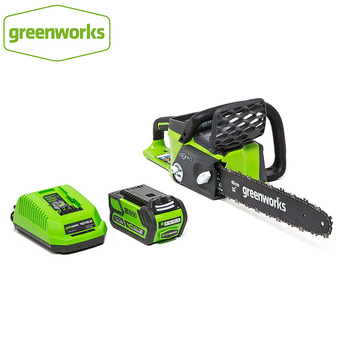 battery air compressor greenworks g24ac 24v without battery and charger Greenworks 40v 4.0Ah Cordless Chain Saw Brushless Motor 20312 Chainsaw With 4.0ah Battery And Charger