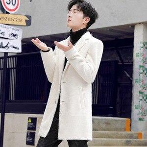 HO new 2019 woolen cloth coat