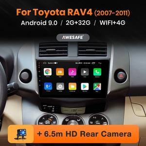 AWESAFE PX9 for Toyota RAV4 RAV 4 2007-2011 Car Radio Multimedia video player GPS No 2 din Android 9.0 2GB+32GB(China)