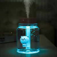 GRTCO 400ml Portable Cute Design Air Humidifier Baby Mini USB Cool Mist Car Lamp Home Mist Maker Steamer Aroma Oil Diffuser|Humidifiers| |  -