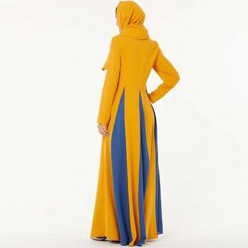 Eid Mubarak Abaya Dubai Turkey Hijab Muslim Dress Islam Clothing Abayas Maxi African Dresses For