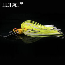 LUTAC 10G/14G Spinnerเหยื่อตกปลาเหยื่อBuzzbait Chatterเหยื่อWobbler Iscaประดิษฐ์กระโปรงbass Fishing Tackle(China)