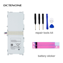 цена на DCTENONE  Tablet EB-BT530FBE EB-BT530FBC battery 6800mAh For Samsung Galaxy Tab 4 10.1